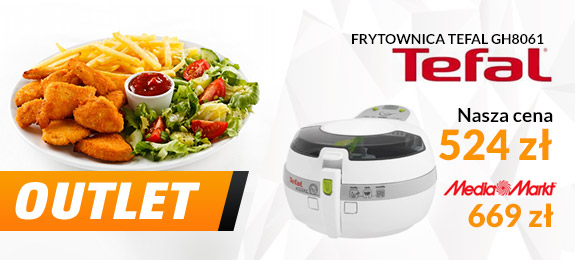 Doskonała frytownica Tefal Actifry GH8061