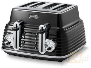 Delonghi CTZ4003.BK Toster 4 tosty 1800W